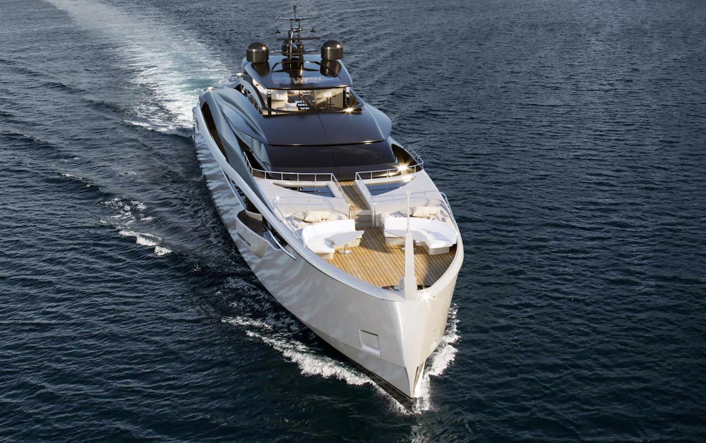 Infinity Yachts Rossinavi e Camper