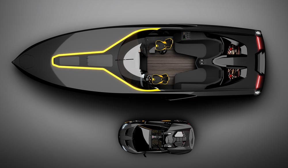 Officina Armare Design A43 Lamborghini Roadster
