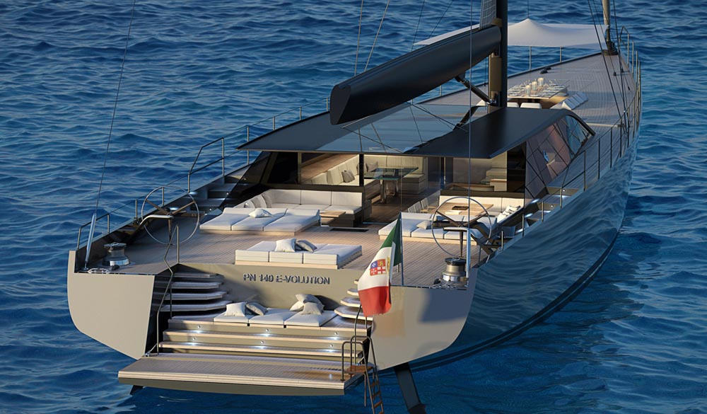 Perini S/Y 42m GTS E-Volution