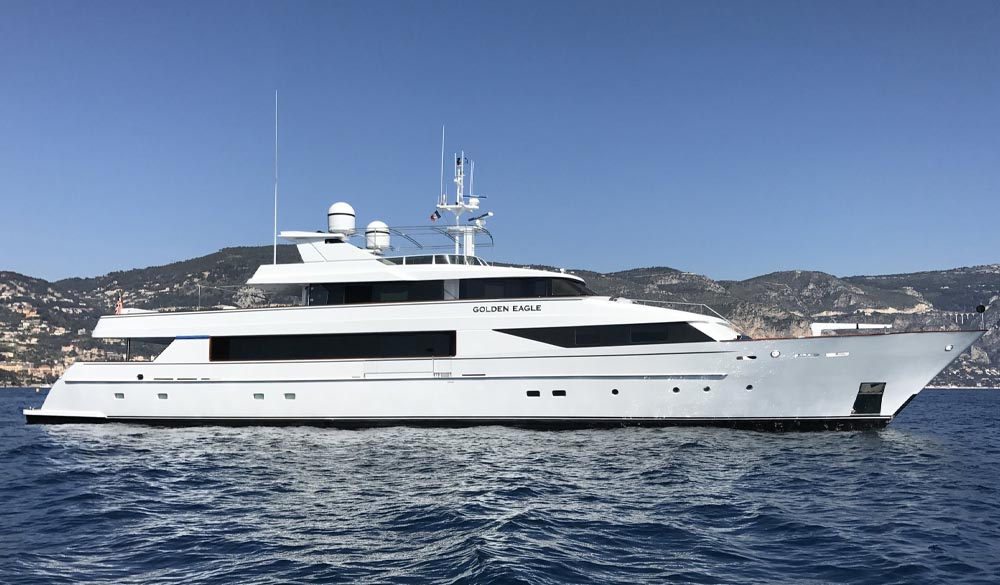 Golden Eagle Yacht 45m by Picchiotti