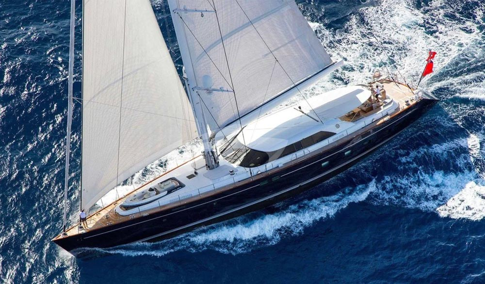 State of Grace Sailing Yacht 40m by Perini Navi