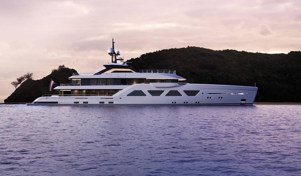 Amels 60 Limited Editions Yacht