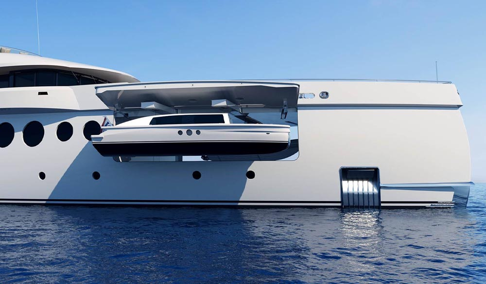 SuperYacht Amels 206 limited edition