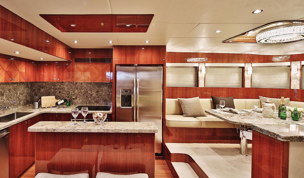 Johnson Yachts - 80 line