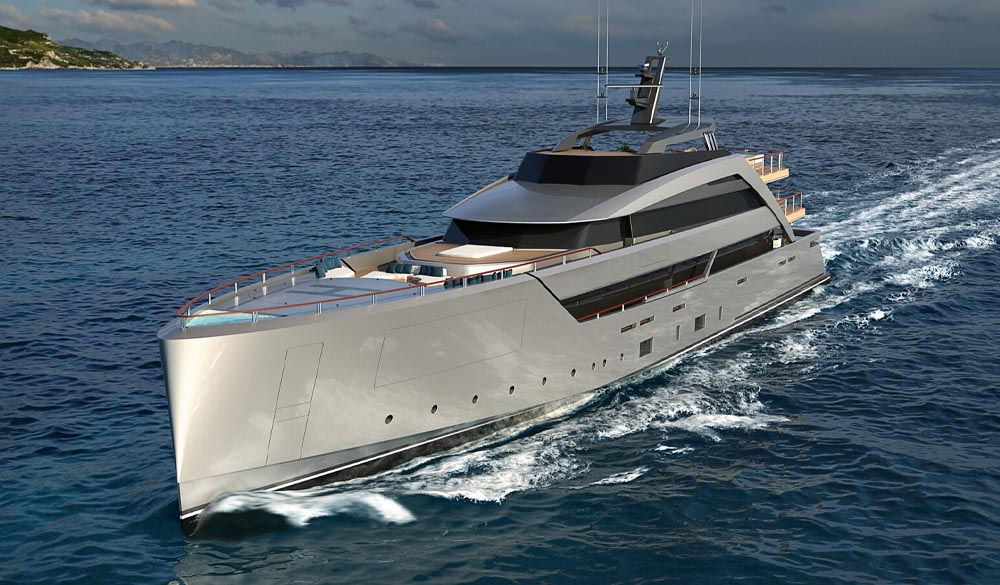 Gravity SuperYacht  innovative concept of Luca Vallebona