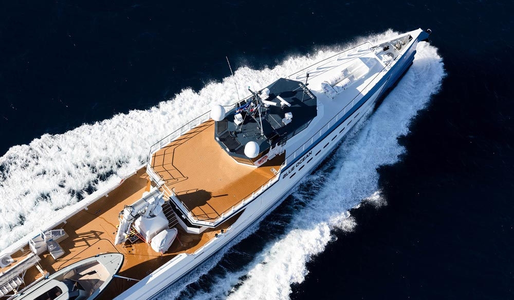 Blue Ocean Support Yacht by Damen