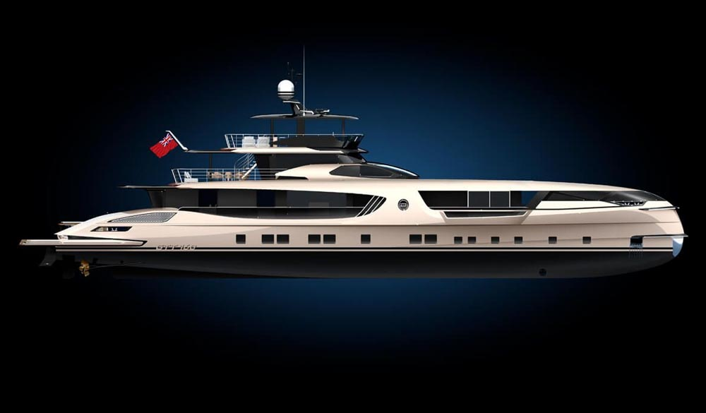 GTT 160 Super Yacht by Dynamiq