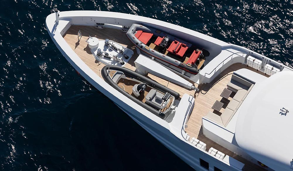 Vida superyacht 55m Steel by Heesen