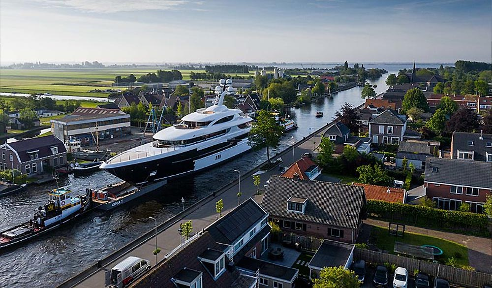 superyacht Podium by Feadship - (c) by Tom van Oossanen