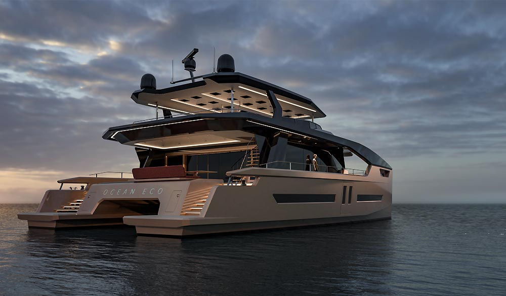 Ocean ECO 90 by Alva Yachts