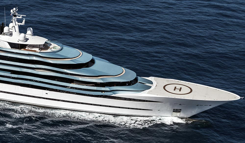 Jubilee Superyacht by Oceanco
