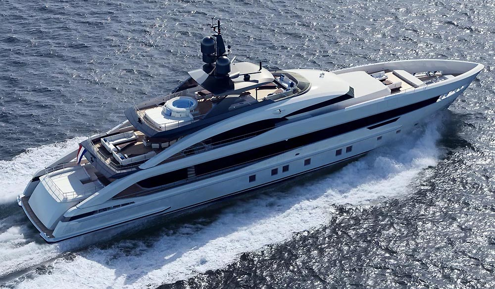 Project Aquamarine the first Aluminium 5000 class