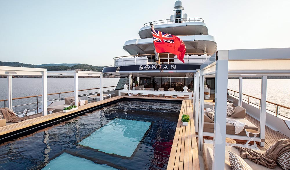Lonian Super Yacht by Feadship