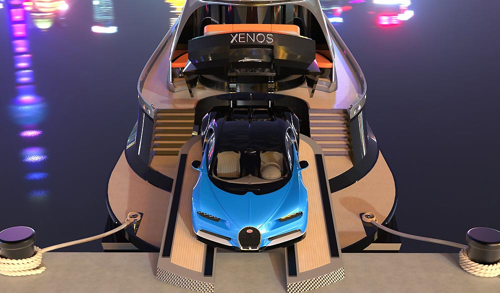 Xenos the hyperyacht