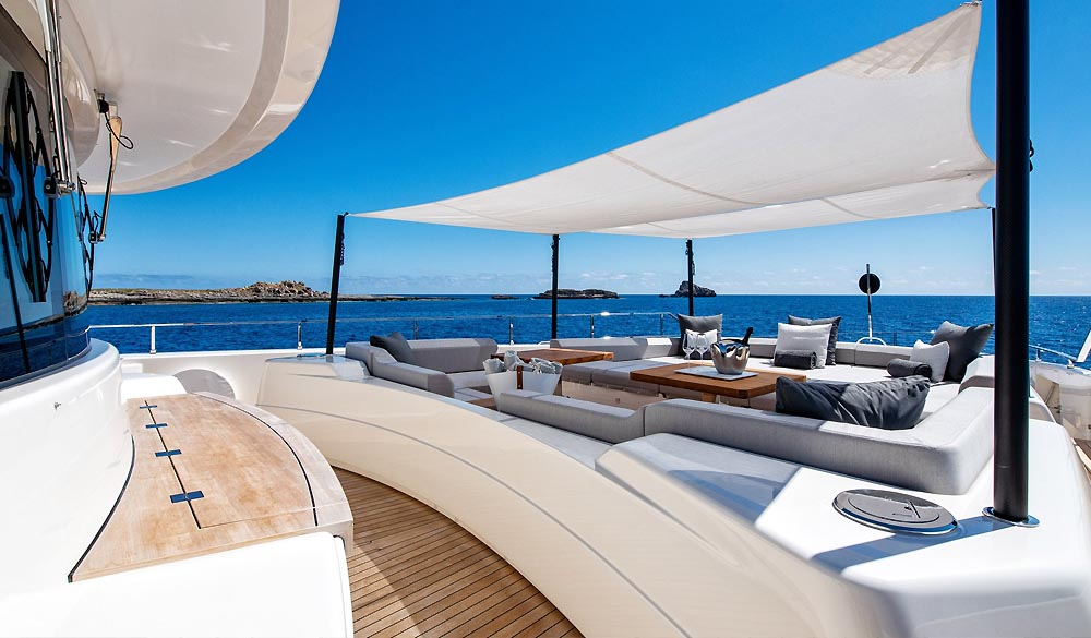 Sangha Superyacht by Custom Line