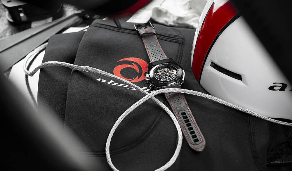 The OMEGA Speedmaster ALINGHI
