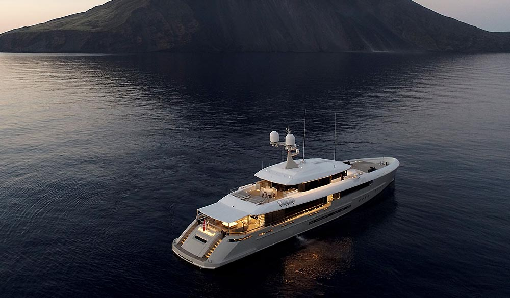 Endeavour II super yacht by Rossinavi