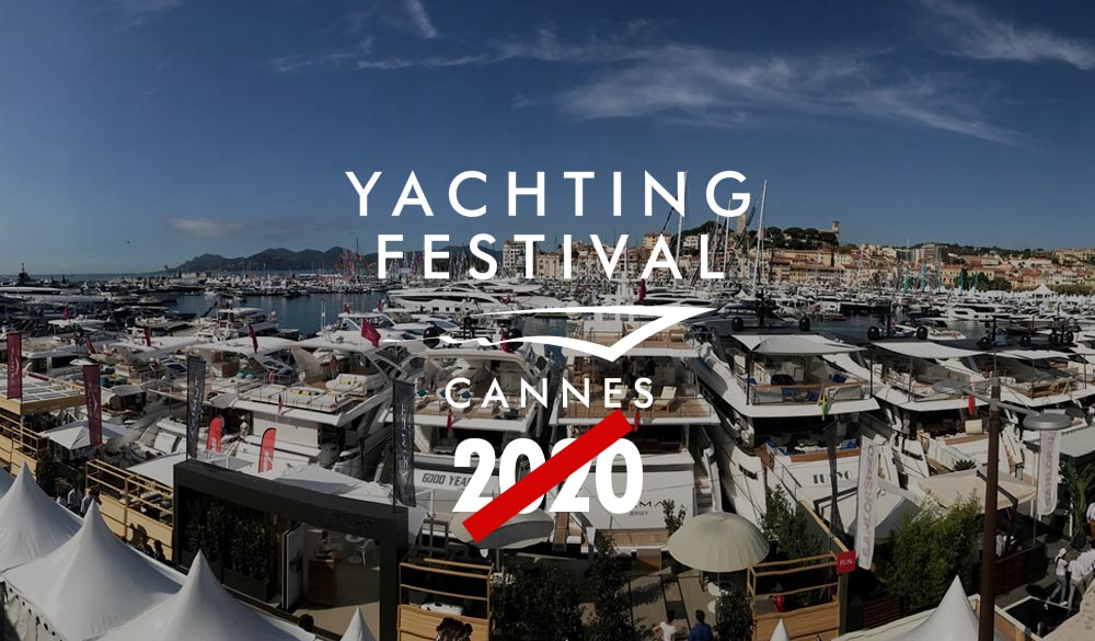 Cannes Yachting Festival 2020 canceled