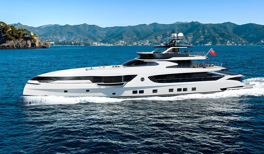 GTT 165 top model of Dynamiq Yachts