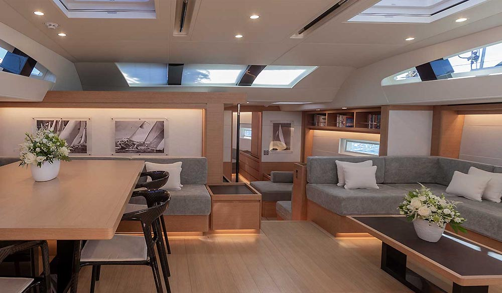 Wolfhound Sailing Yacht by Southern Wind Shipyard