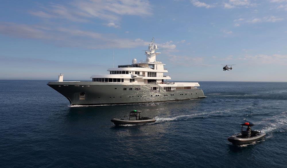 Planet Nine superyacht 73m