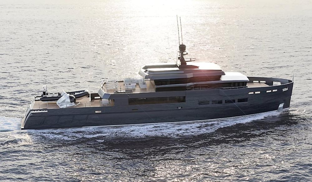 UP40 Explorer Sport Yacht Antonini Navi