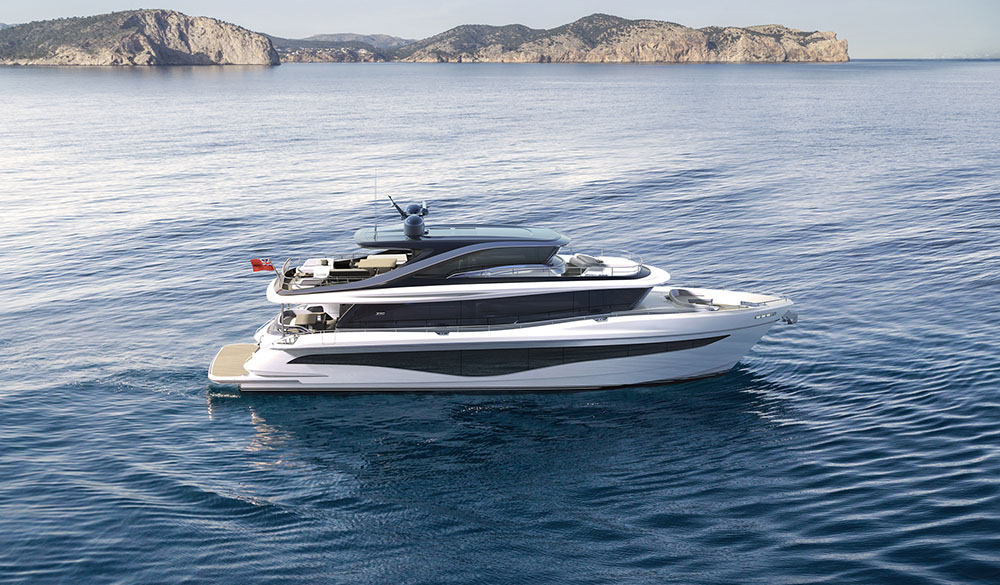 Pricess Yachts X80